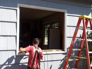 Replacing windows in a house in Corvallis