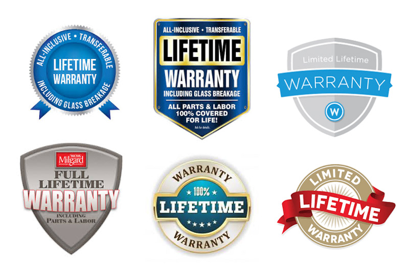 """Lifetime"" Window Warranty"